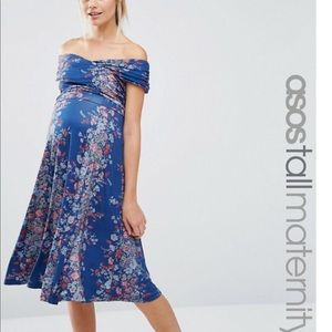 ASOS maternity floral dress